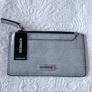 Express Silver Card Holder